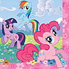 MY LITTLE PONY FRIEND LUNCH NAPK (96/CS) PARTY SUPPLIES