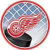 DETROIT RED WINGS DESSERT PLATE PARTY SUPPLIES