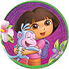 DORA THE EXPLORER DESSERT PLATE (48/CS) PARTY SUPPLIES