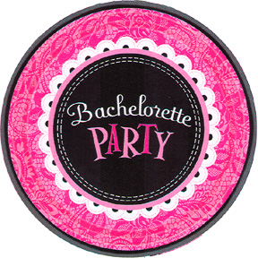 Bachelorette party supplies tableware discontinued for Bachelor party decoration ideas