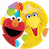 DISCONTINUED SESAME STREET DESSERT PLATE PARTY SUPPLIES