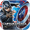 CAPTAIN AMERICA DINNER PLATE PARTY SUPPLIES