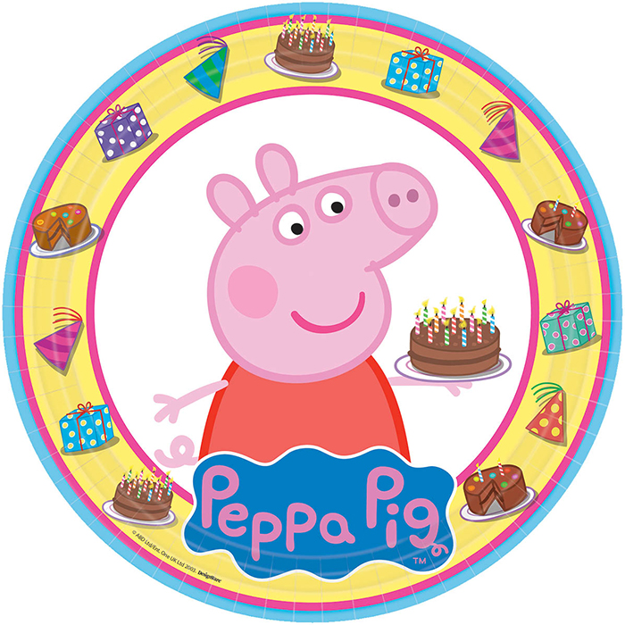 PEPPA PIG DINNER PLATE PARTY SUPPLIES
