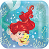 ARIEL DREAM DINNER PLATE PARTY SUPPLIES