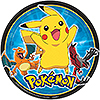 DISCONTINUED PIKACHU & FRIENDS DINNER PL PARTY SUPPLIES