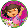 DORA THE EXPLORER DINNER PLATE (48/CS) PARTY SUPPLIES