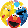 SESAME STREET PARTY DINNER PLATE PARTY SUPPLIES