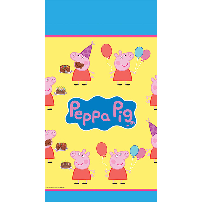 PEPPA PIG TABLECOVER PARTY SUPPLIES