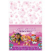 PAW PATROL GIRL TABLECOVER PARTY SUPPLIES