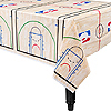 SPALDING BASKETBALL TABLECOVER PARTY SUPPLIES