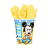 MICKEY 1ST BIRTHDAY HOT-COLD CUP PARTY SUPPLIES