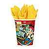 DISCONTINUED JAKE NL PIRATE HOT-COLD CUP PARTY SUPPLIES