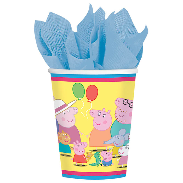 PEPPA PIG HOT-COLD CUP PARTY SUPPLIES