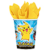 DISCONTINUED PIKACHU & FRND HOT-COLD CUP PARTY SUPPLIES