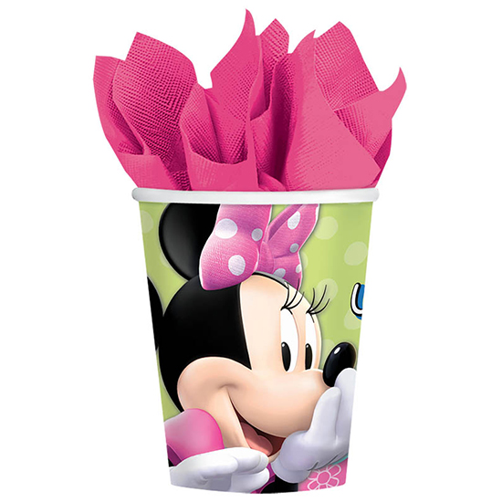 DISCONTINUED MINNIE MOUSE HOT-COLD CUPS PARTY SUPPLIES