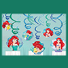 ARIEL DREAM SWIRL DECORATIONS PARTY SUPPLIES