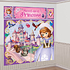 SOFIA THE FIRST WALL DECORATING KIT PARTY SUPPLIES