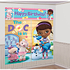 DOC MCSTUFFINS WALL DECORATING KIT PARTY SUPPLIES