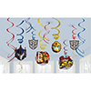TRANSFORMERS SWIRL DECORATION PARTY SUPPLIES