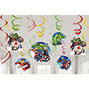 AVENGER EPIC SWIRL DECORATIONS PARTY SUPPLIES