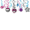 MONSTER HIGH SWIRL DECORATIONS PARTY SUPPLIES
