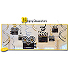 LIGHTS CAMERA ACTION SWIRL DECORATION PARTY SUPPLIES