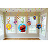 SESAME STREET PARTY SWIRL DECORATION PARTY SUPPLIES