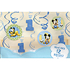 MICKEY MOUSE 1ST SWIRL DECORATION PARTY SUPPLIES