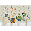 DIEGO SWIRL DECORATION PARTY SUPPLIES