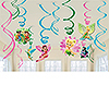 TINKERBELL SWIRL DECORATIONS PARTY SUPPLIES