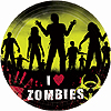 ZOMBIES BANQUET PLATE PARTY SUPPLIES