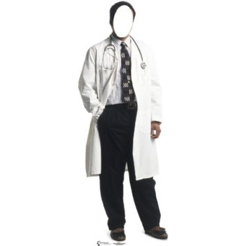 Click for larger picture of DOCTOR STAND IN PARTY SUPPLIES