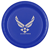 AIR FORCE SILVER WING DINNER PLATE PARTY SUPPLIES