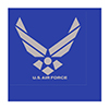 AIR FORCE SILVER WING LUNCH NAPKIN PARTY SUPPLIES