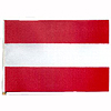4X6 MUSLIN FLAG- AUSTRIA (36/CS) PARTY SUPPLIES