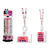 BEADED BADGE HOLDER PINK PARTY SUPPLIES