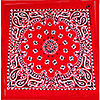 BANDANNAS RED PAISLEY (12/CASE) PARTY SUPPLIES
