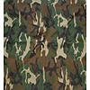 BANDANNAS WOODLAND CAMOUFLAGE (12/CASE) PARTY SUPPLIES