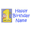 PERSONALIZED 1ST CAKES ON ME BOY BANNER PARTY SUPPLIES