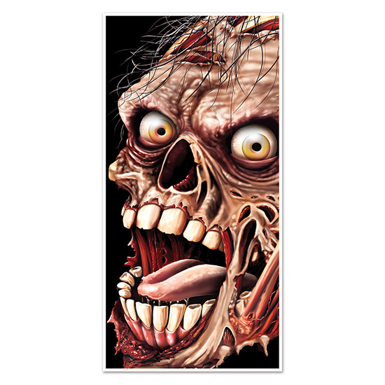 ZOMBIE DOOR COVER PARTY SUPPLIES