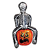 SKELETON PARTY POOPER COOLER (6/CS) PARTY SUPPLIES