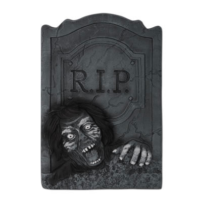 ZOMBIE R.I.P. TOMBSTONE PARTY SUPPLIES