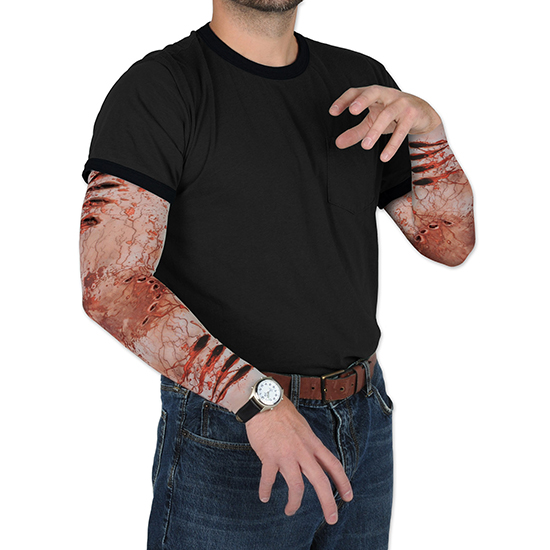 ZOMBIE BITE PARTY SLEEVES PARTY SUPPLIES