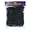 GIANT SPIDER WEB-BLACK (12/CS) PARTY SUPPLIES