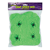 GIANT SPIDER WEB (12/CS) PARTY SUPPLIES