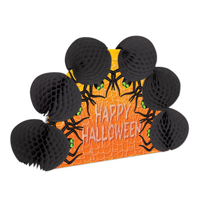 Click for larger picture of HALLOWEEN SPIDER POP-OVER CNTRPC (12/CS) PARTY SUPPLIES
