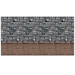 Click for larger picture of DIRT FLOOR BACKDROP PARTY SUPPLIES