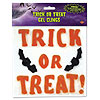 TRICK OR TREAT GEL CLINGS (12/CS) PARTY SUPPLIES