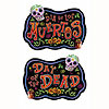 DAY OF THE DEAD SIGN (12/CS) PARTY SUPPLIES