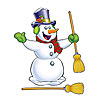 JOINTED SNOWMAN(12/CS) PARTY SUPPLIES